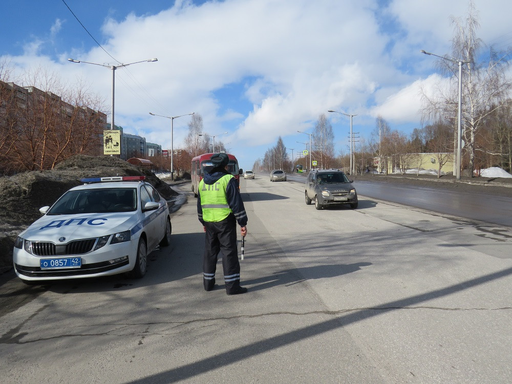 В Прокопьевске пройдут массовые проверки водителей