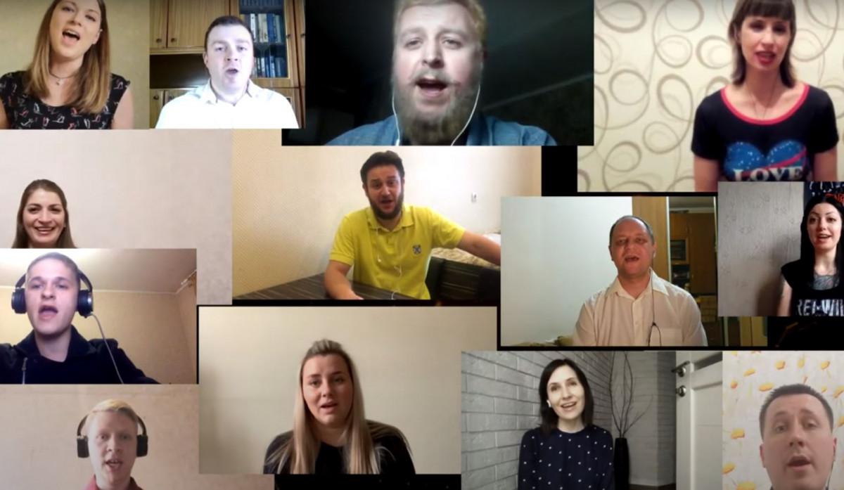 Кузбасские вокалисты записали гимн врачам