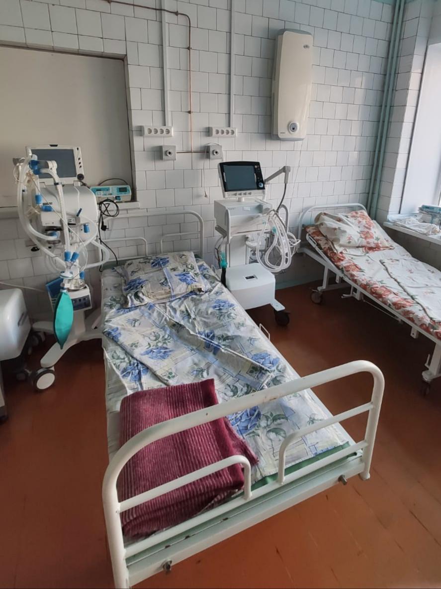 В Прокопьевске открыто отделение для лечения пациентов с коронавирусной инфекцией