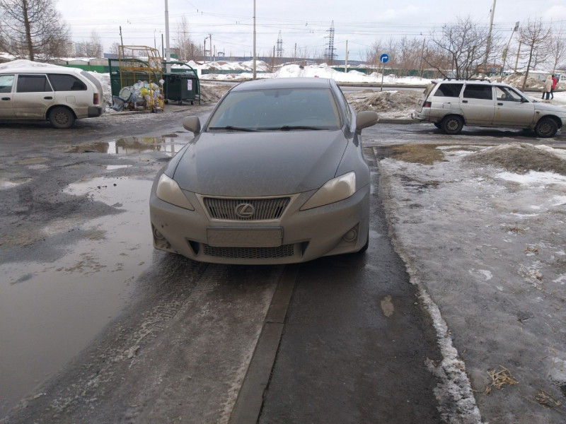 Кузбассовец наказан за парковку на тротуаре