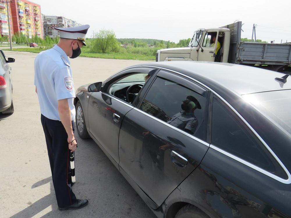 В Прокопьевске инспекторы ГИБДД за один рейд пресекли 68 нарушений ПДД