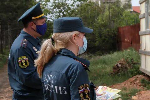 Полицейские Кузбасса напоминают об ответственности за нарушения особого противопожарного режима