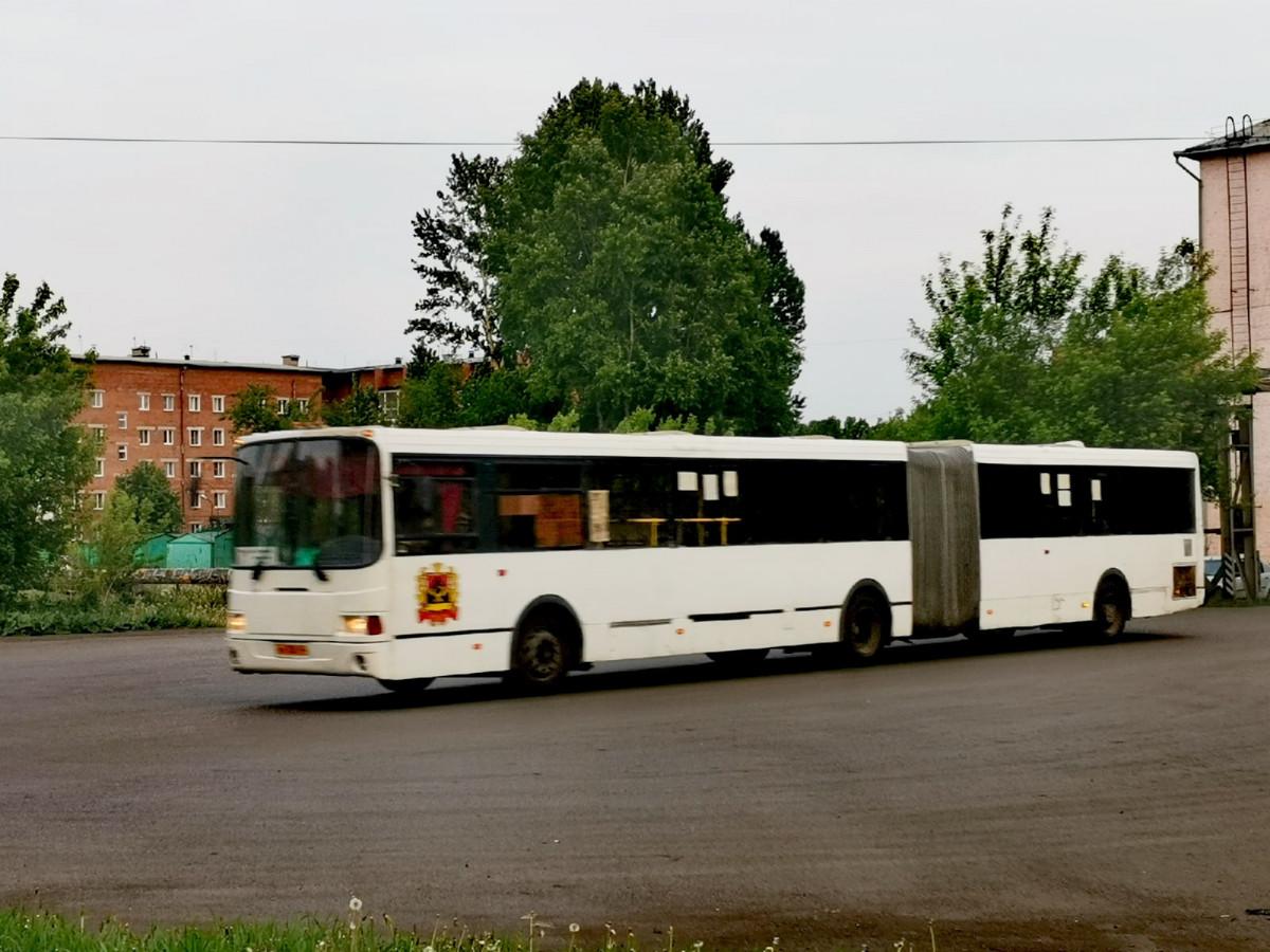 В Прокопьевске в общественный транспорт можно только в масках