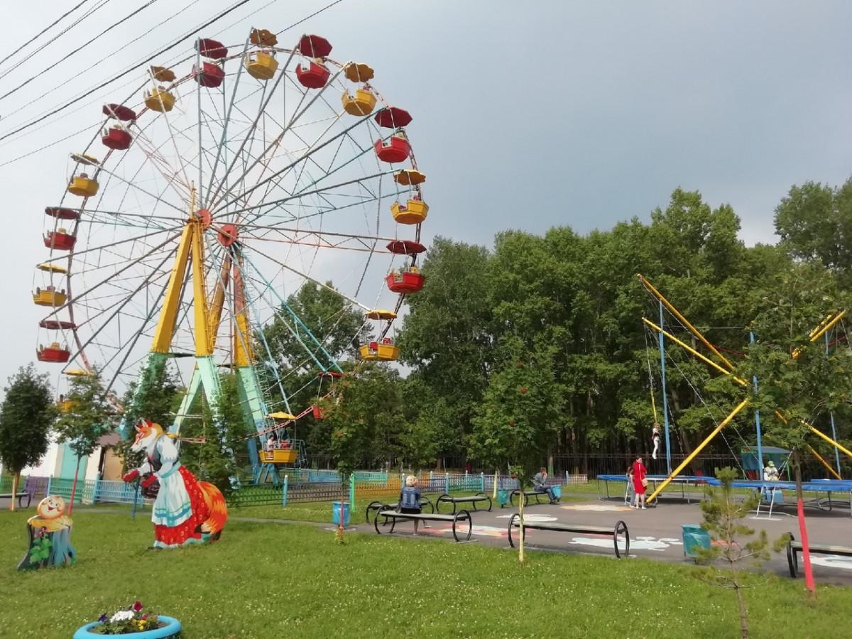 В Прокопьевске начали работу аттракционы