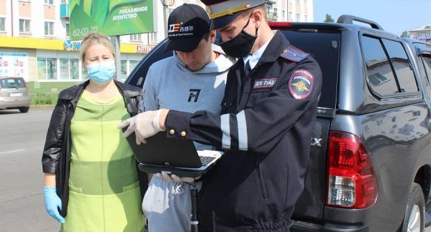 """Сотрудники ГИБДД Прокопьевска """"шокировали"""" водителей"""