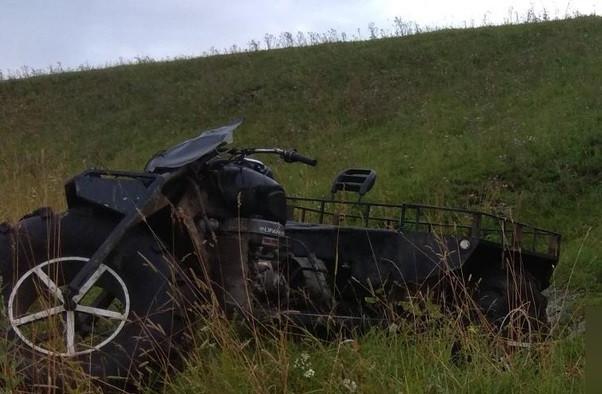 В Кузбассе погиб водитель мотовездехода