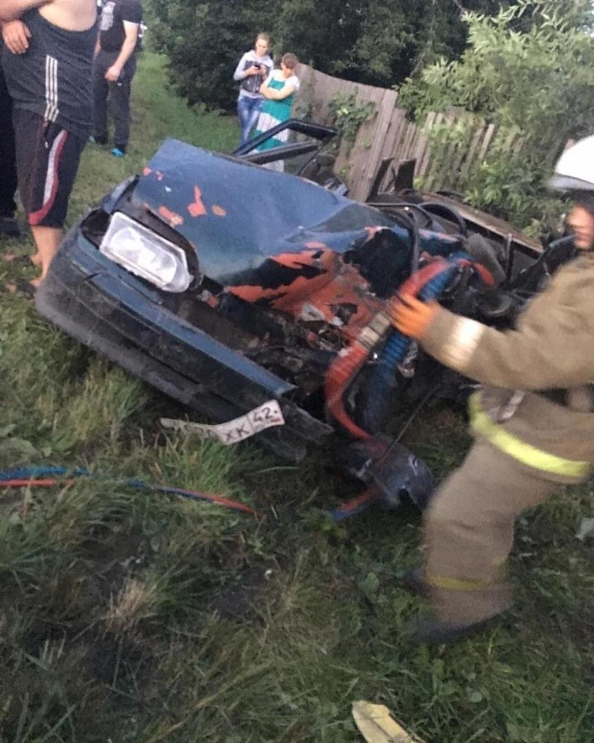 В Прокопьевске в ДТП пострадали 4 человека