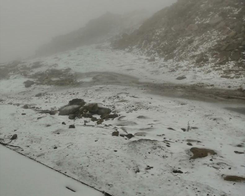 В Кузбассе выпал первый снег