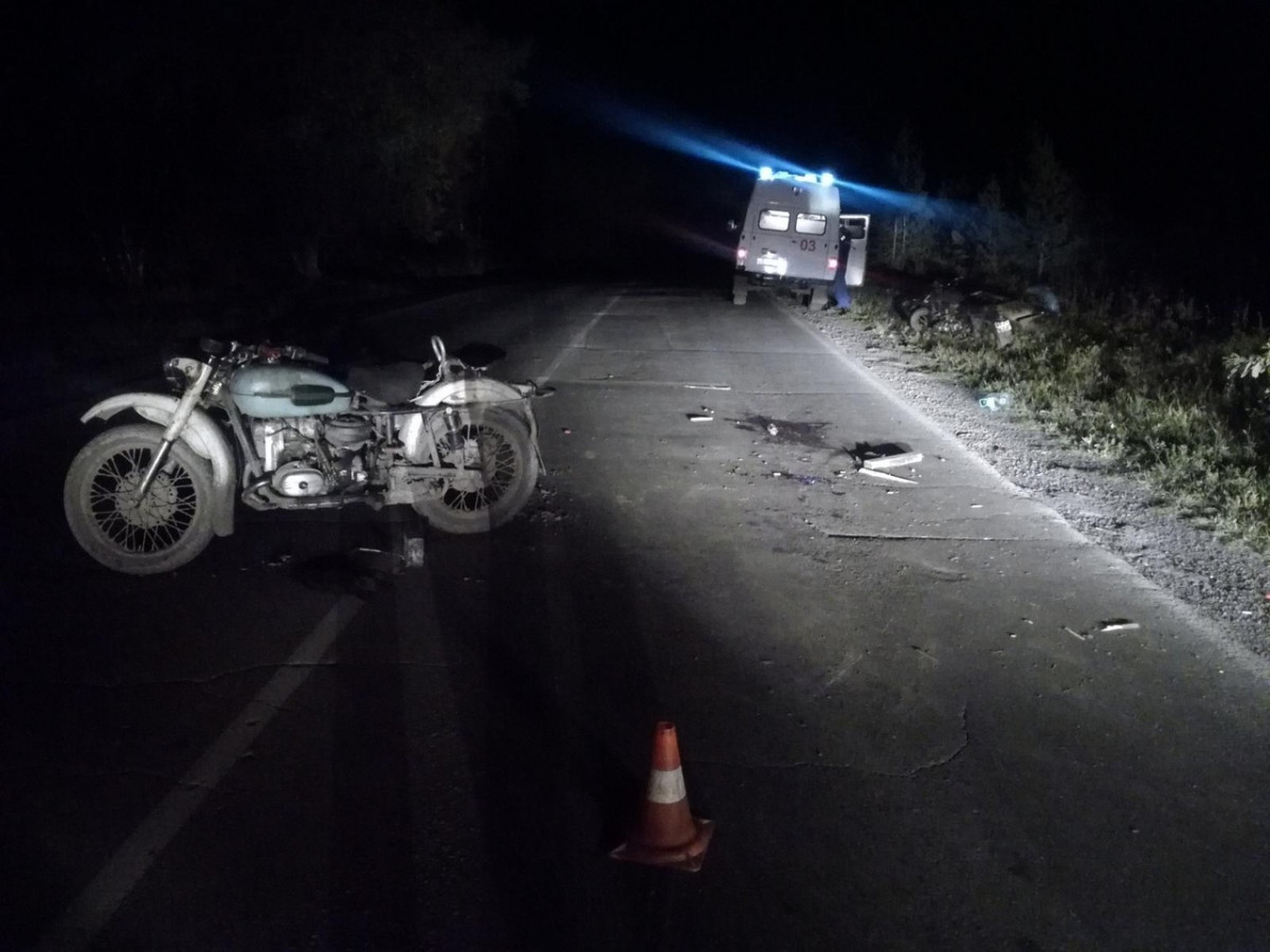 ДТП в Прокопьевске: два мотоциклиста не поделили дорогу