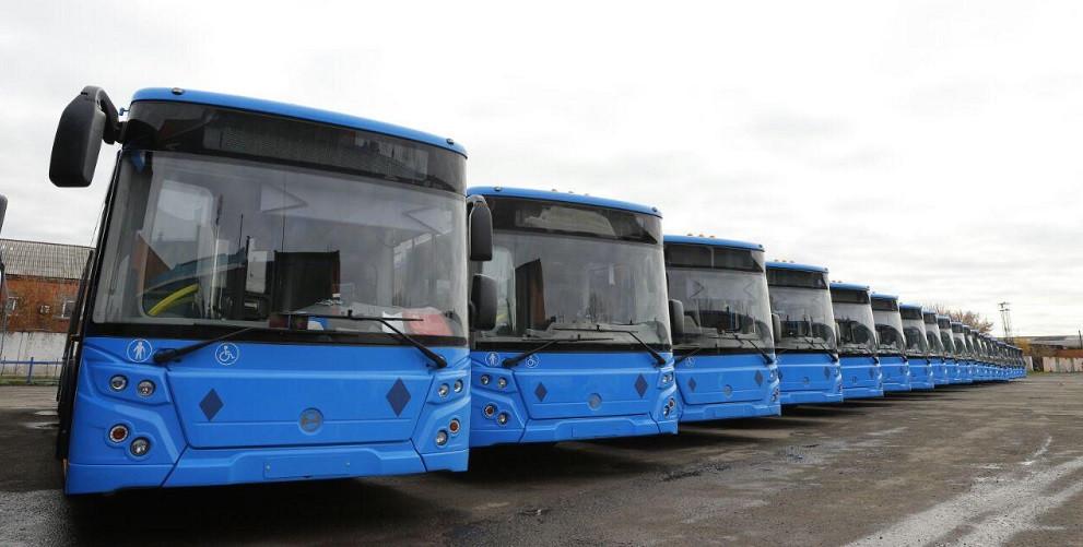 Крупная партия вместительных автобусов поступила в Кузбасс