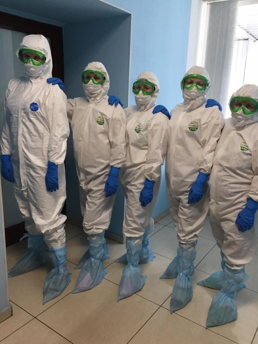 Более тысячи дополнительных мест для больных коронавирусом и пневмониями развернули в стационарах Кузбасса