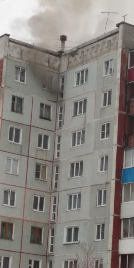 В Прокопьевске при пожаре погибла женщина