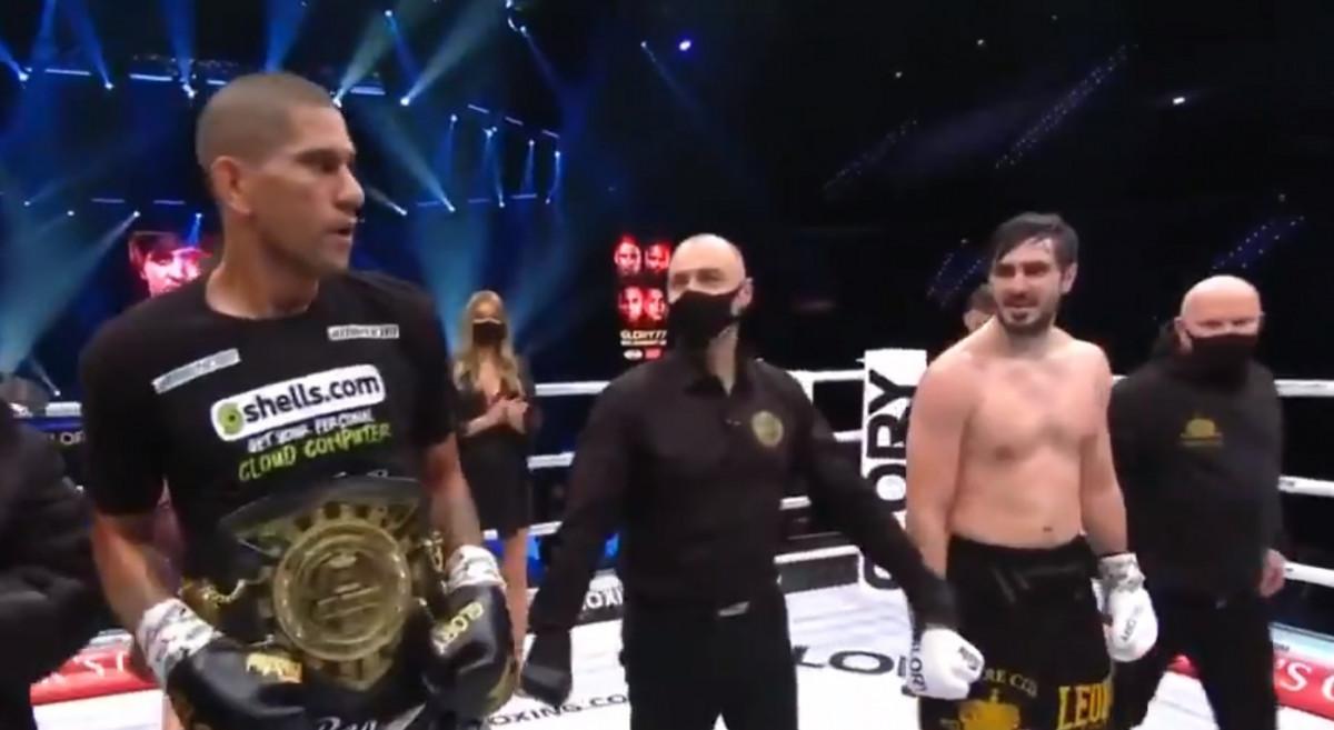 Поединок на равных: на турнире Glory 77 прокопчанин Артем Вахитов бился с бразильцем Алексом Перейрой