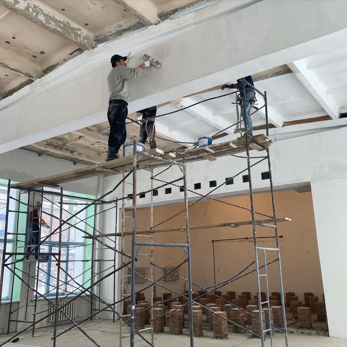 Как в Прокопьевске продвигается капитальный ремонт школы №71