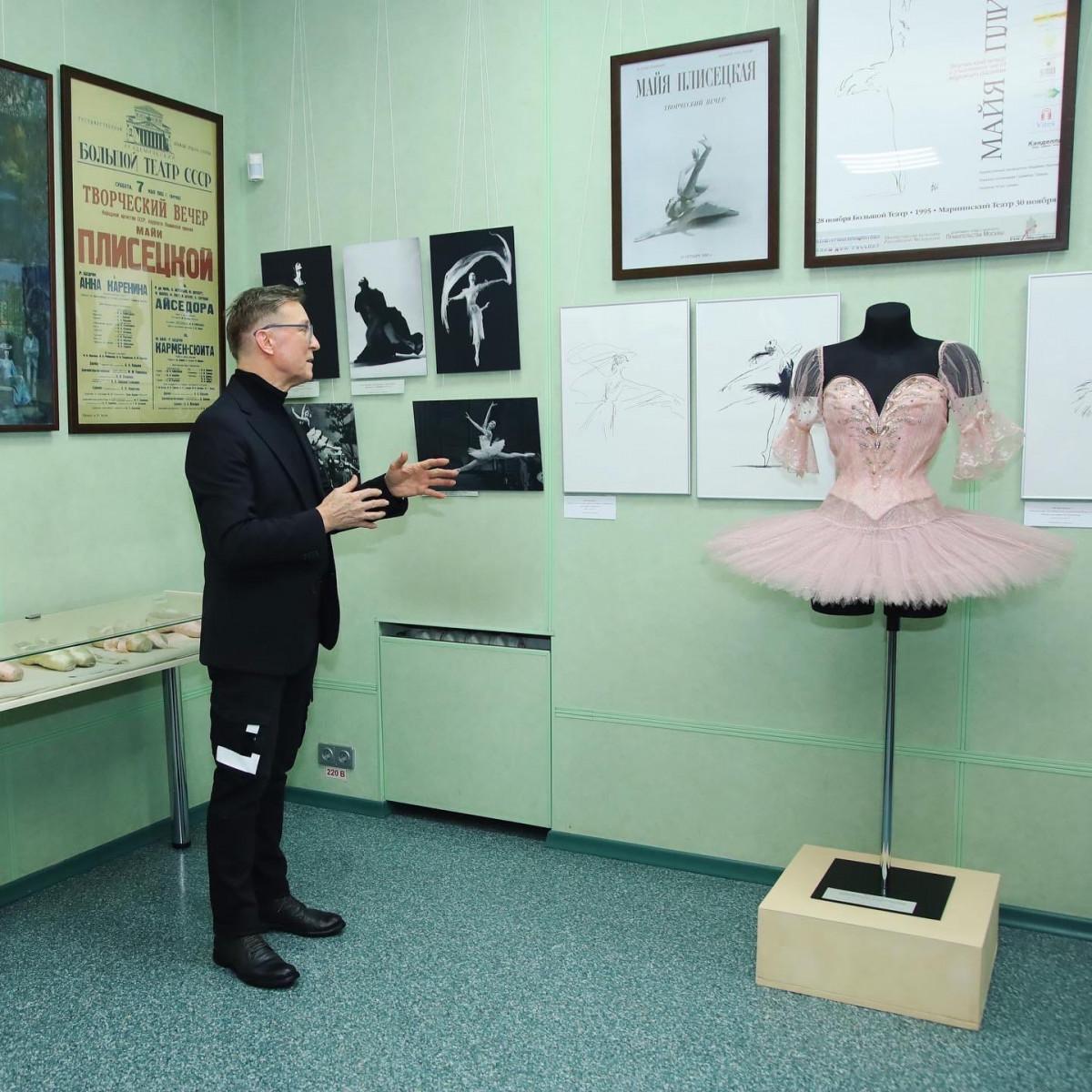 В Прокопьевске открылись выставки из фондов Государственного центрального театрального музея