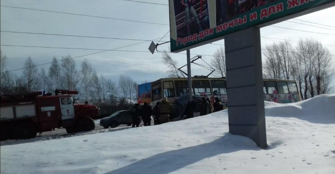 В Прокопьевске из-за ДТП остановлено движение трамваев
