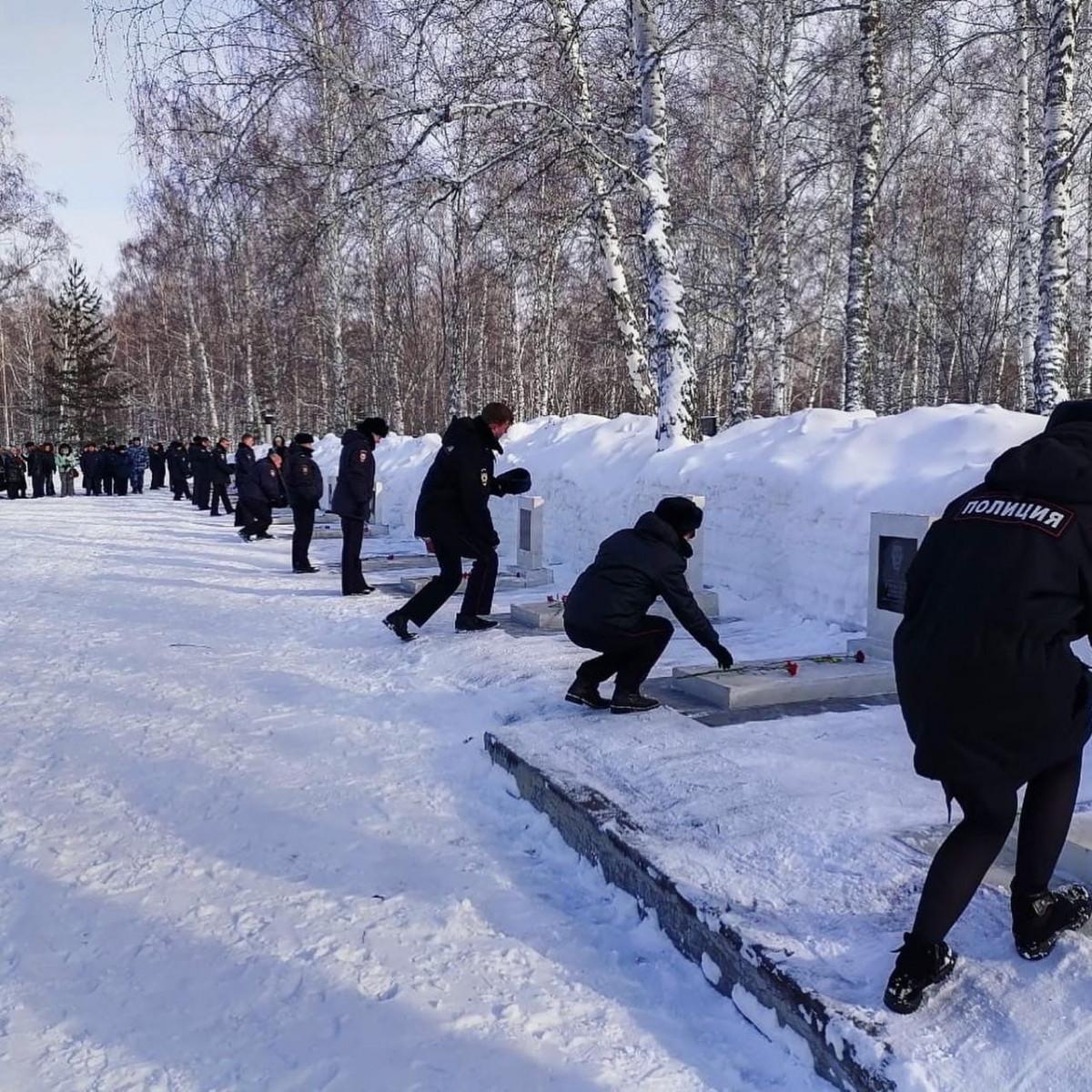 25 февраля в Прокопьевске - день памяти и скорби по погибшим бойцам ОМОН
