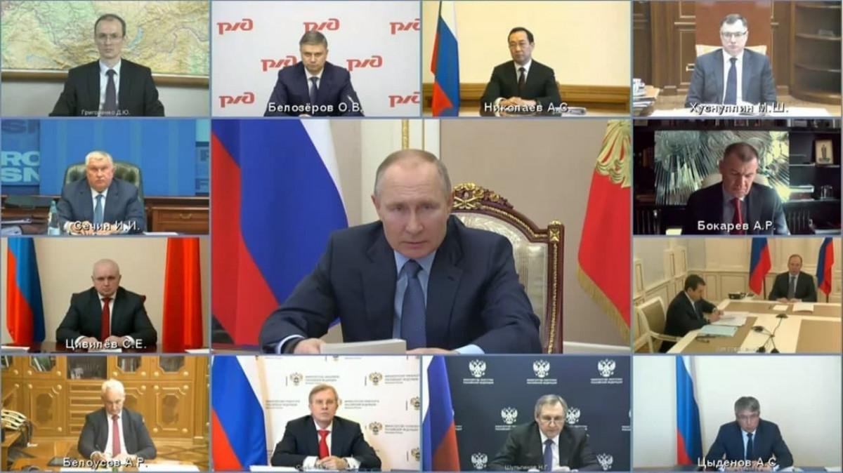 Президент РФ поручил обеспечить увеличение вывоза кузбасского угля в восточном направлении