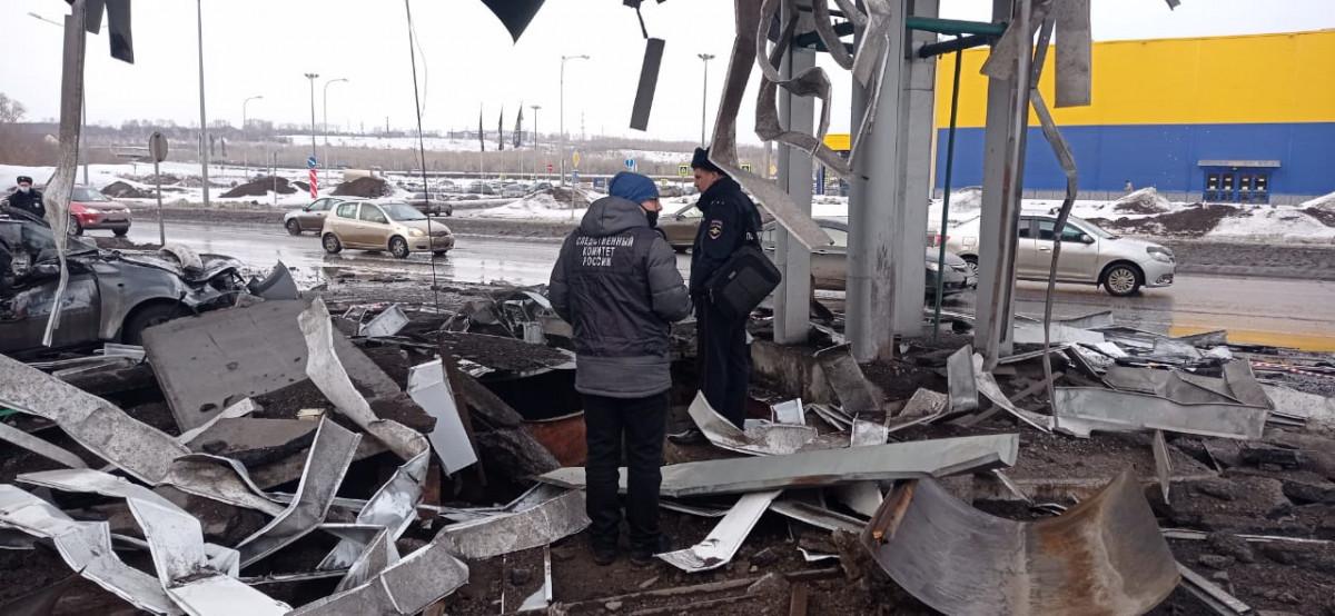 В Новокузнецке по факту пожара на АЗС возбуждено уголовное дело