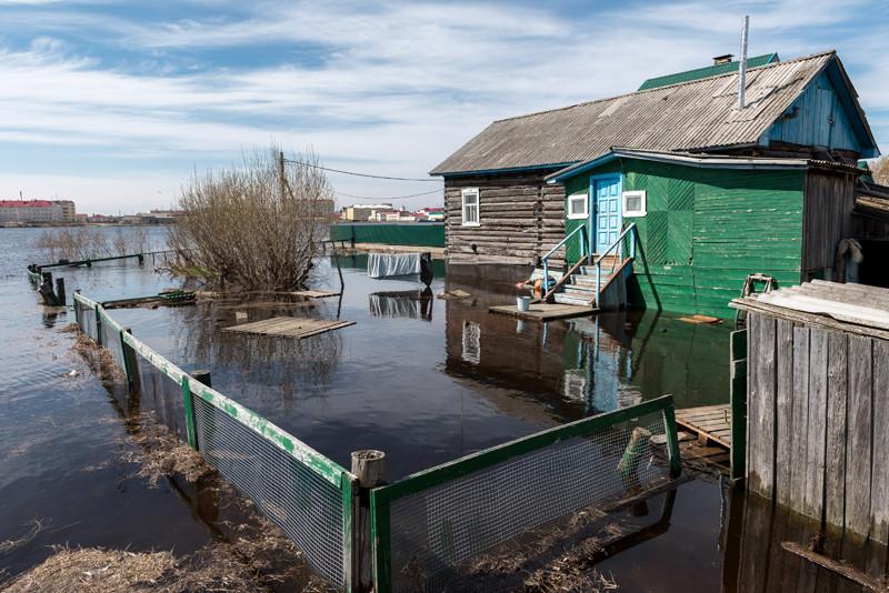 По прогнозам, в Новокузнецке во время паводка возможны серьезные подтопления