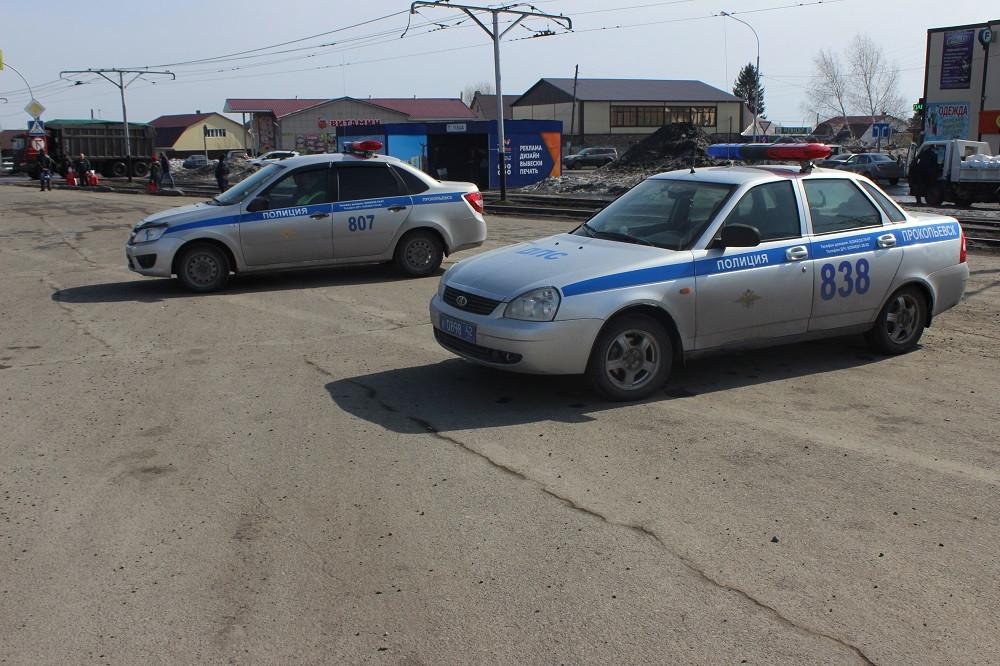 В Прокопьевске инспекторы ГИБДД за 1 рейд привлекли к ответственности 80 нарушителей ПДД