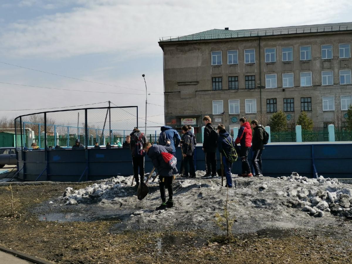 Прокопьевск преображается после зимы