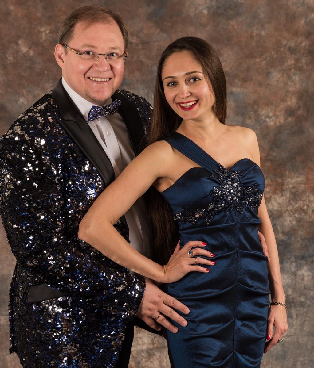 В Прокопьевск с концертом приедут всемирно известные Виктория Сухарева и Артём Старченко