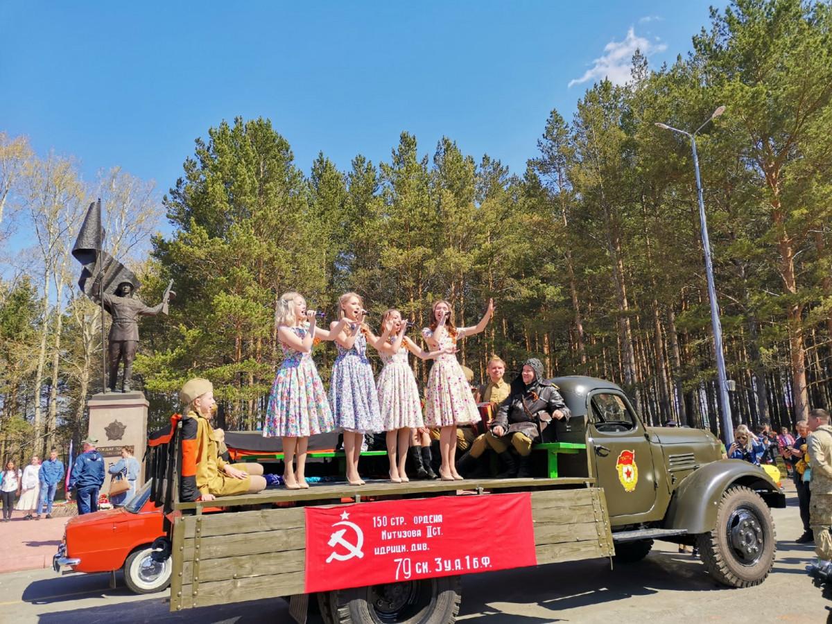 Как Прокопьевск отметил День Победы (фото, видео)