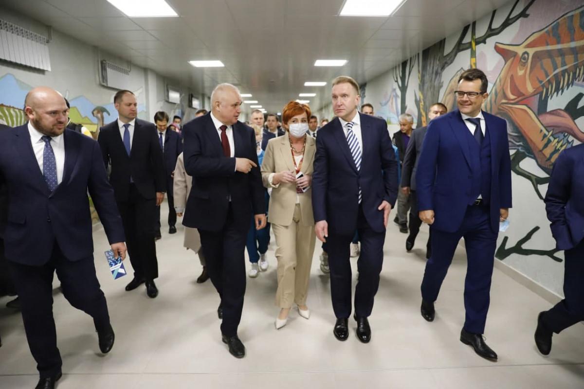 В Кузбассе торжественно открыт новый ледовый дворец