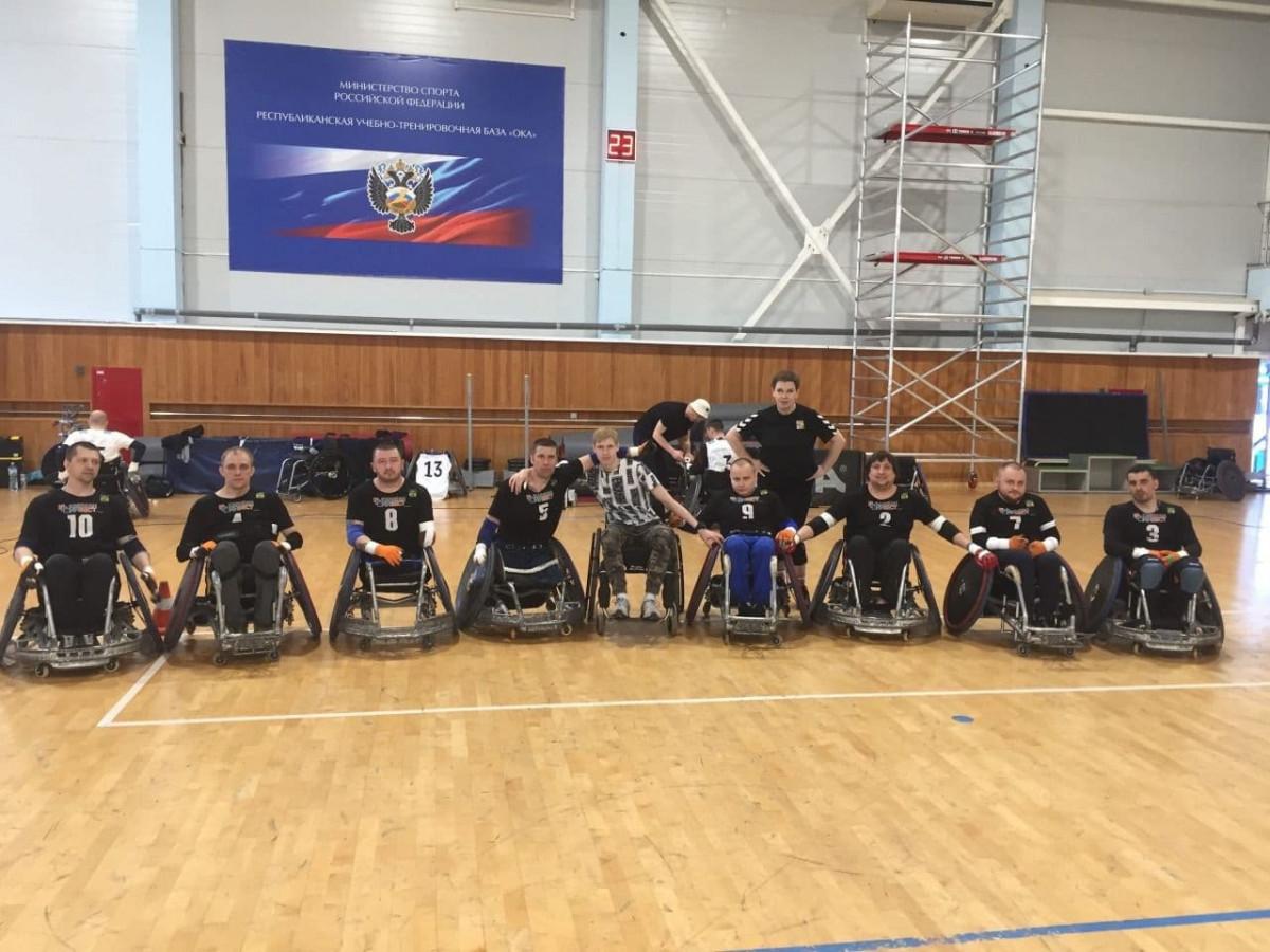 Прокопчанин стал призером чемпионата России по регби на колясках