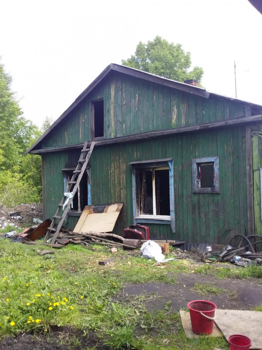 В Прокопьевске из-за обогревателя многодетная семья осталась без дома