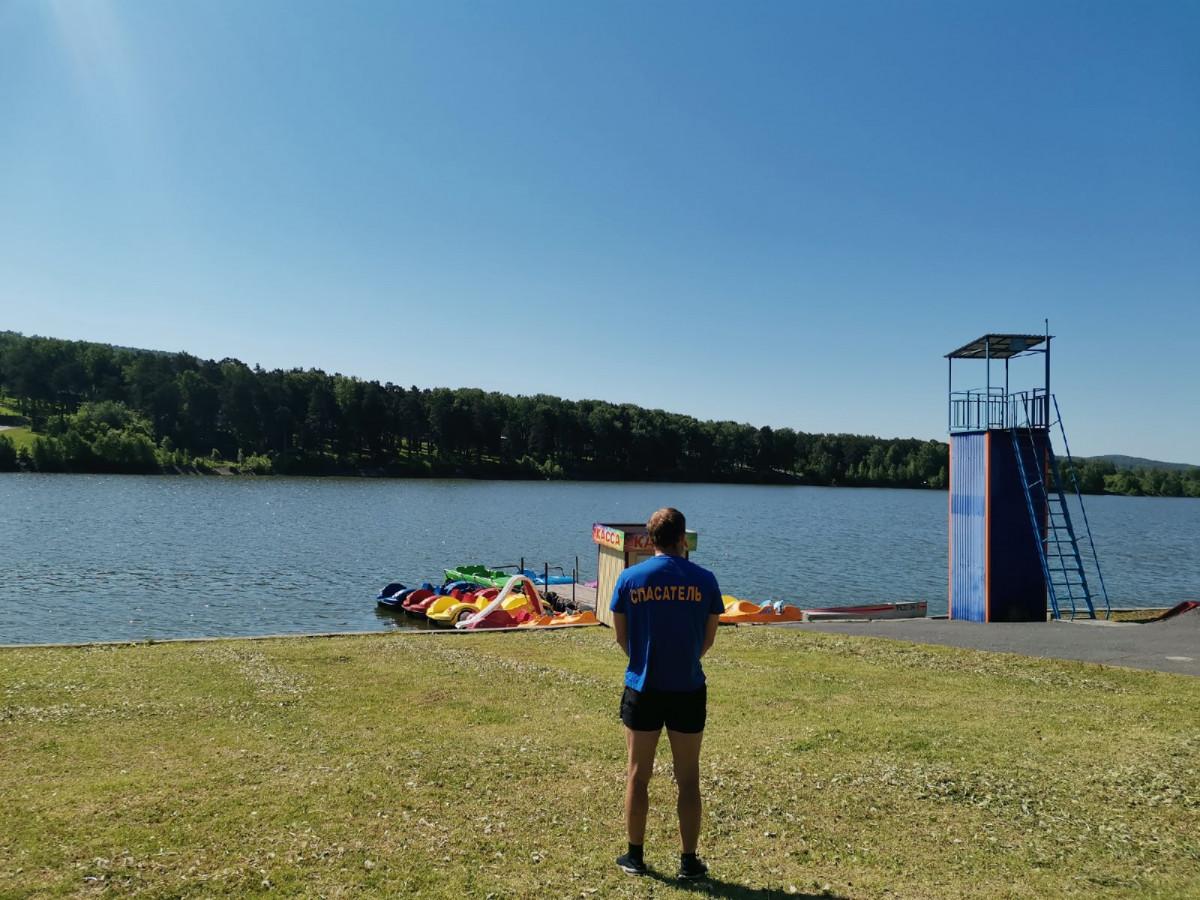 В Прокопьевске открыты три пляжа и одно место отдыха у воды