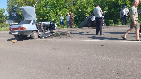 В Прокопьевске произошло массовое ДТП