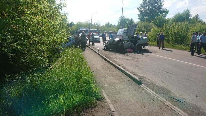 В Прокопьевске 6 человек пострадали в ДТП