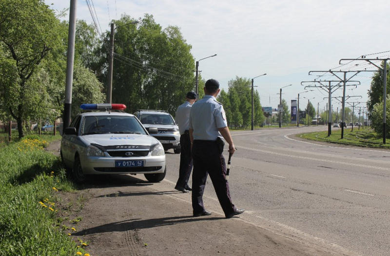 В Прокопьевске за 5 месяцев отстранены от управления 218 нетрезвых водителей