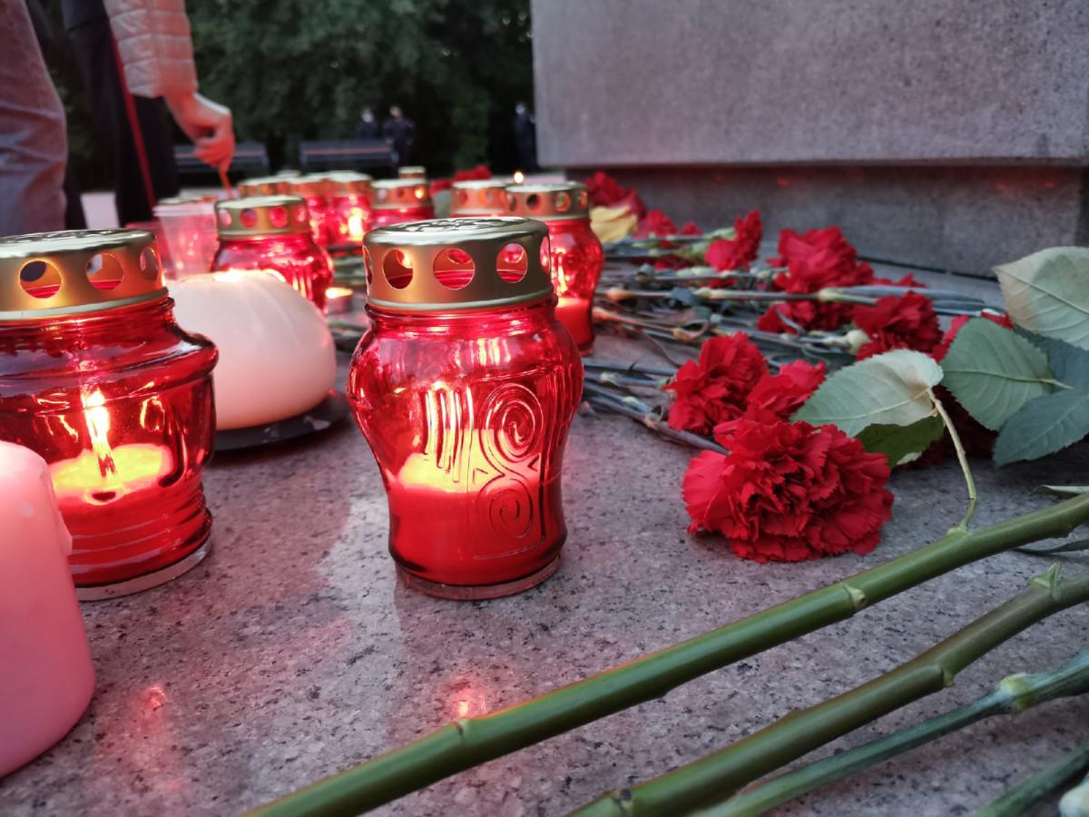 Прокопчане зажгли сотни свечей в память о героях