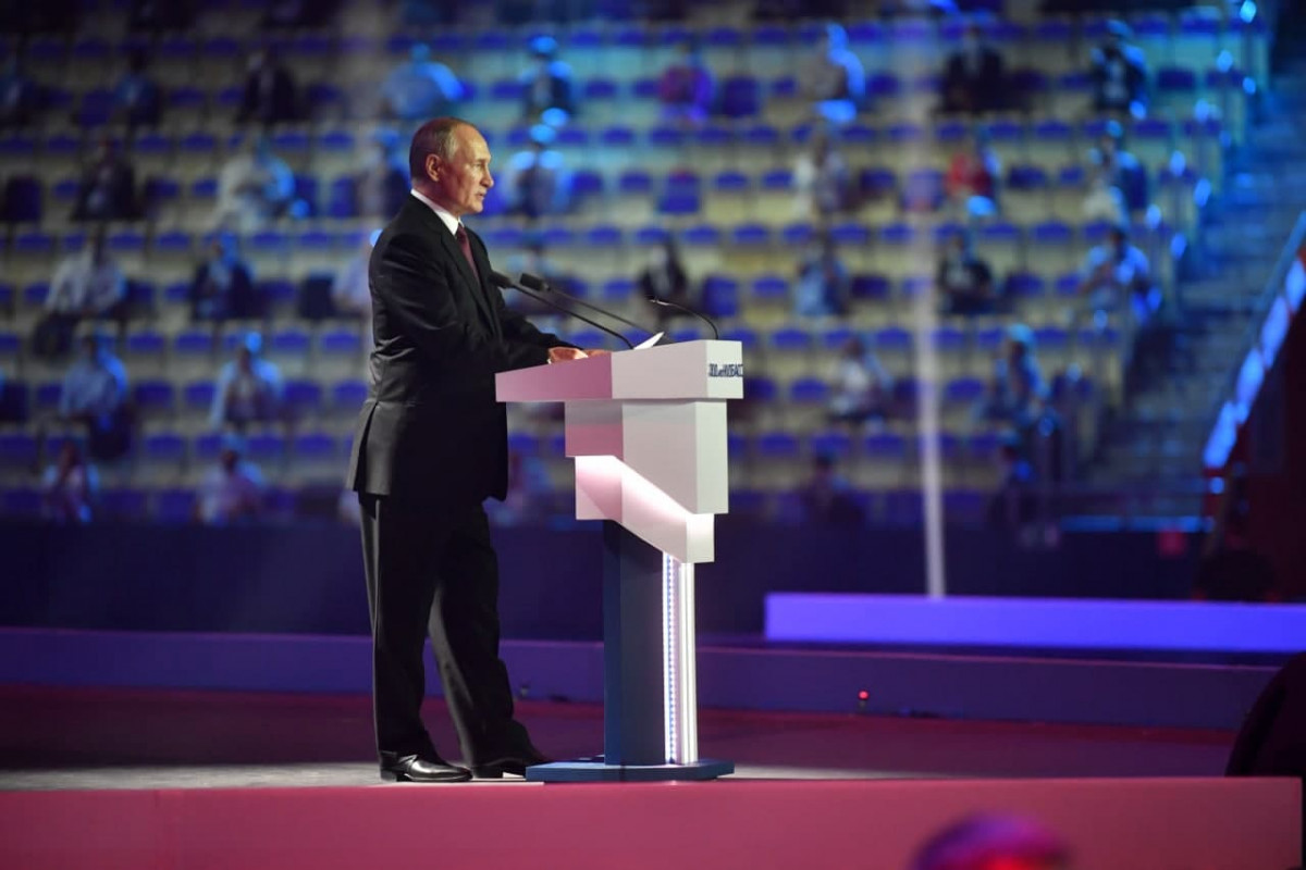 Владимир Путин поздравил кузбассовцев с 300-летием региона