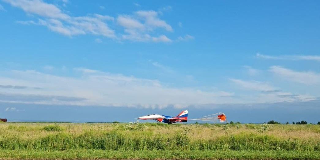 Авиационная группа «Стрижи» покажет фигуры высшего пилотажа в небе над Прокопьевском
