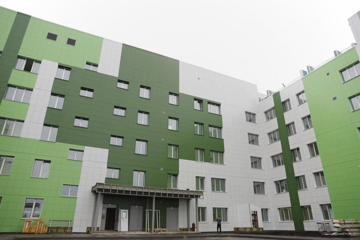 В Новокузнецке ведется прием сотрудников в суперсовременную инфекционную больницу