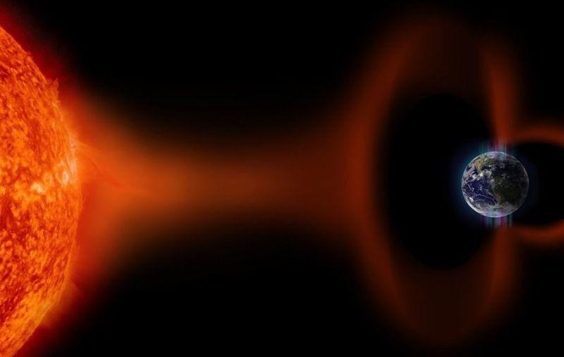 Ученые: На землю обрушилась магнитная буря