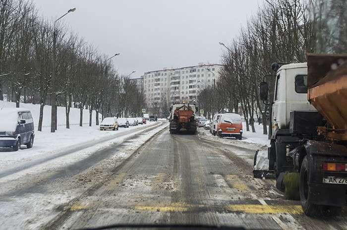 В Прокопьевске дорожники перешли на круглосуточный режим работы