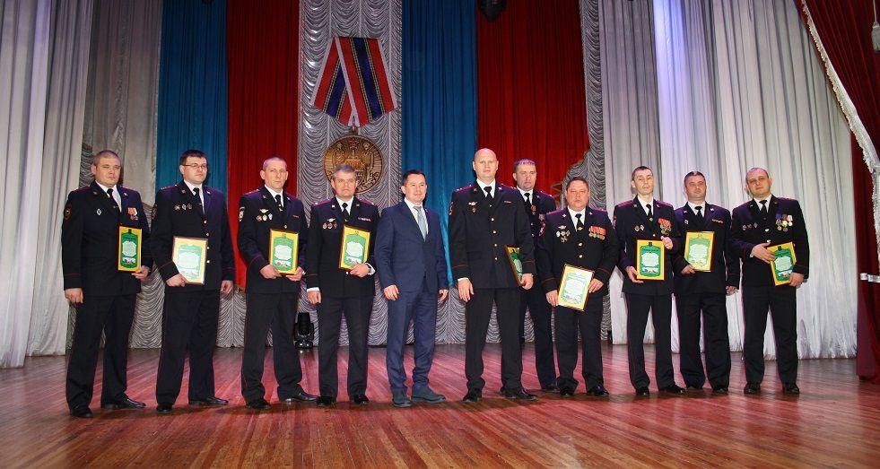 В Прокопьевске состоялся праздник ко Дню полиции