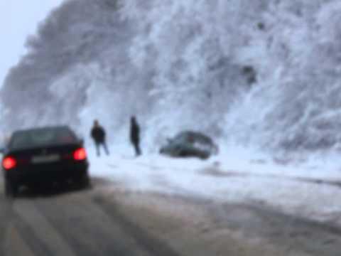 МЧС Кузбасса предупреждает, из-за погодных условий водителям нужно быть особенно бдительными