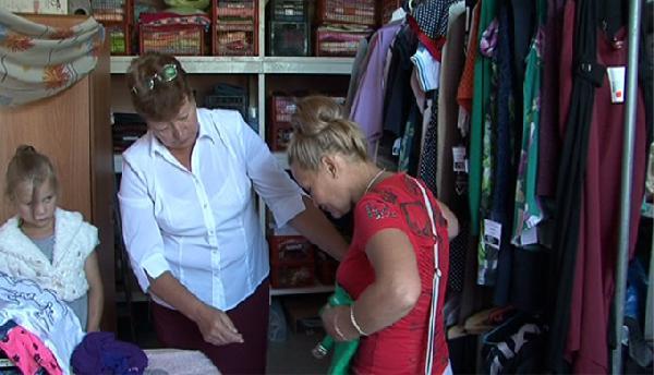 В Прокопьевске продолжается благотворительный сбор вещей для нуждающихся