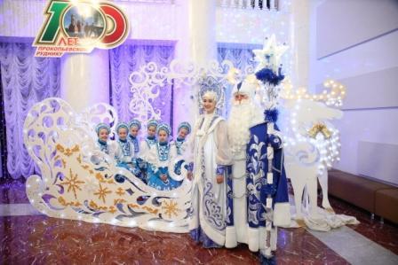 В Прокопьевске готовится к открытию резиденция Деда Мороза