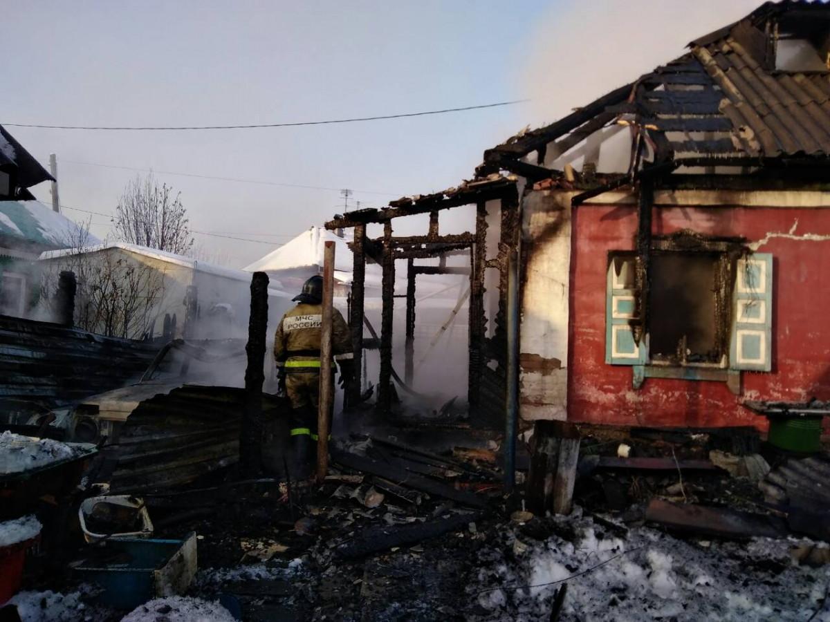 В Прокопьевске при пожаре погибли 2 человека