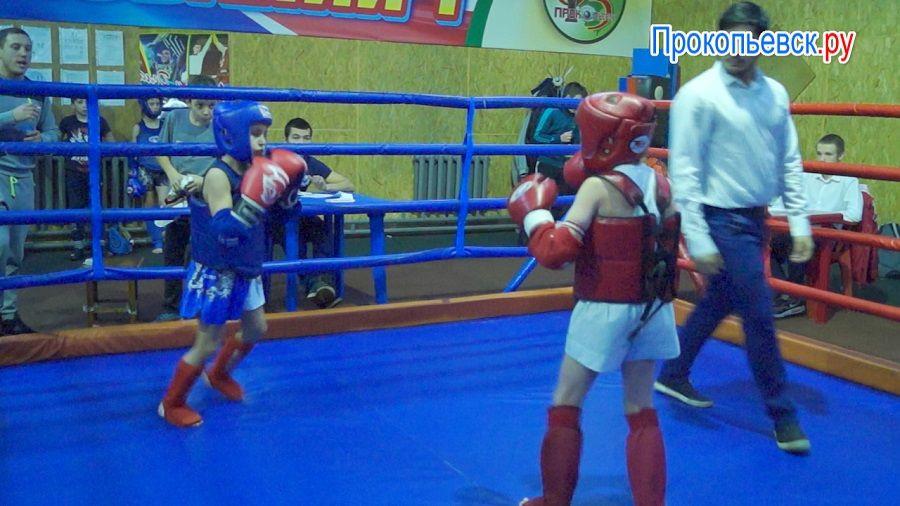 В Прокопьевске состоялись соревнования по тайскому боксу среди детей (сюжет)