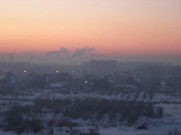 В Кузбассе объявлен режим неблагоприятных метеоусловий №1