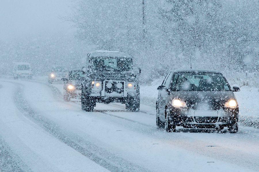 ВКузбассе ожидают снег, метели игололедицу