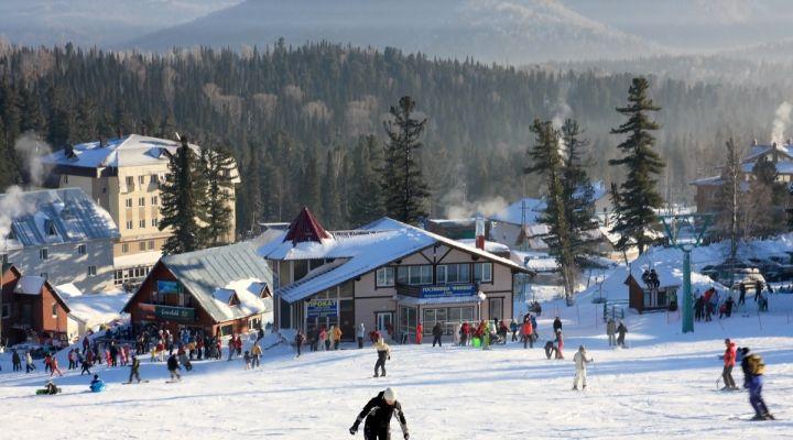 Специалисты рассказали, кто отдыхал в Шерегеше на новогодних каникулах